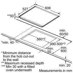 כיריים Bosch דגם PIN675N14E